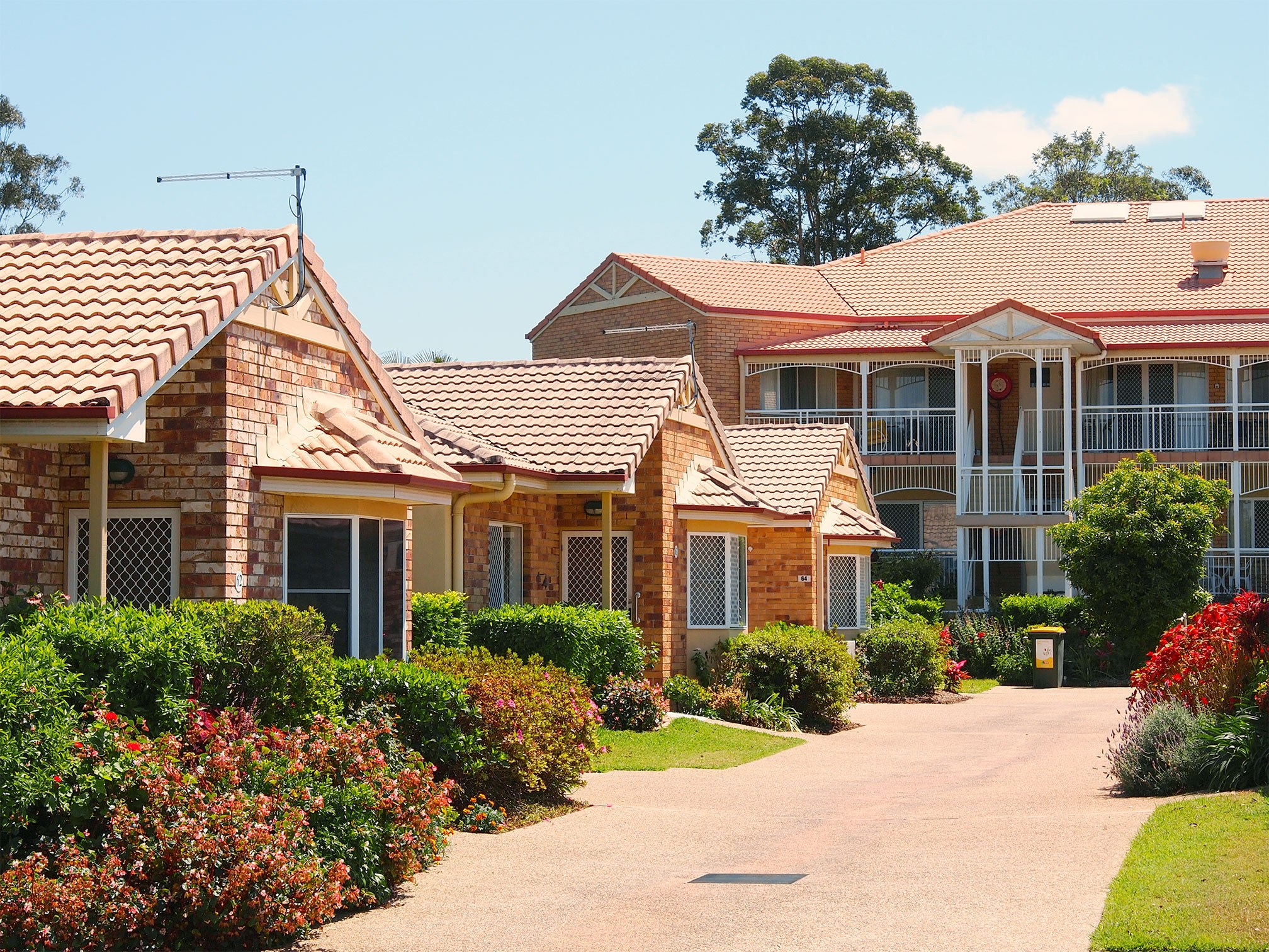 Independent living units and serviced apartments