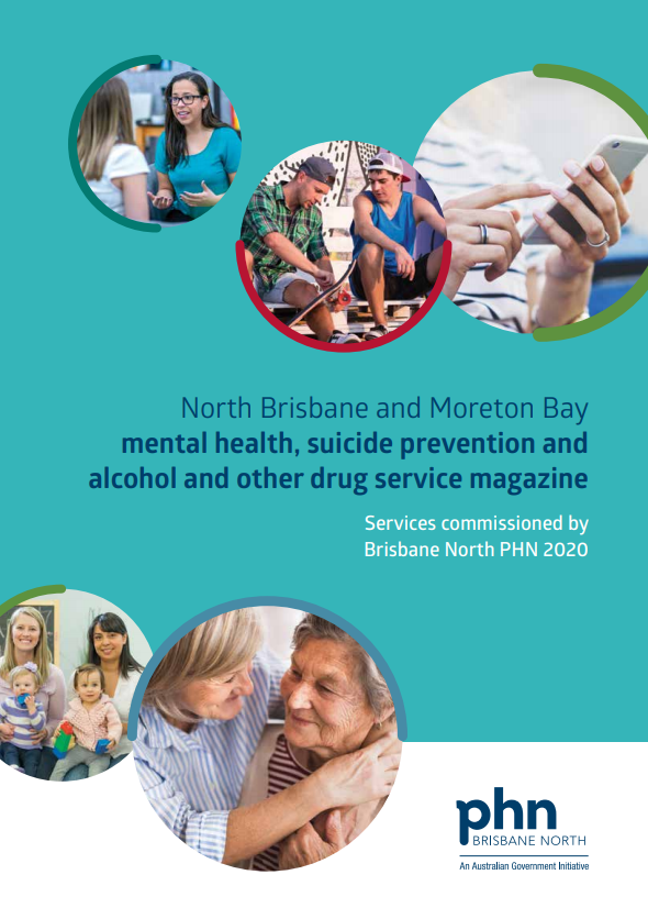 Front cover of MHAOD Service Magazine